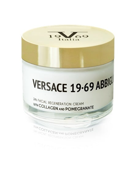 Versace Italia Cream Collagen & Pomegranate 24h Κρέμα Ανάπλασης Προσώπου με Κολλαγόνο & Ρόδι για Όλους τους Τύπους Δέρματος, 50ml