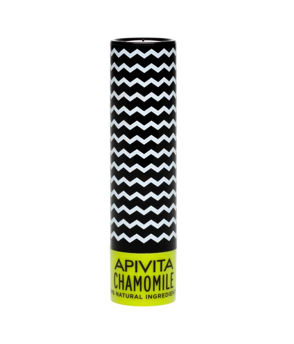 Apivita Lip Care Balm with Chamomile SPF15, 4.4 gr