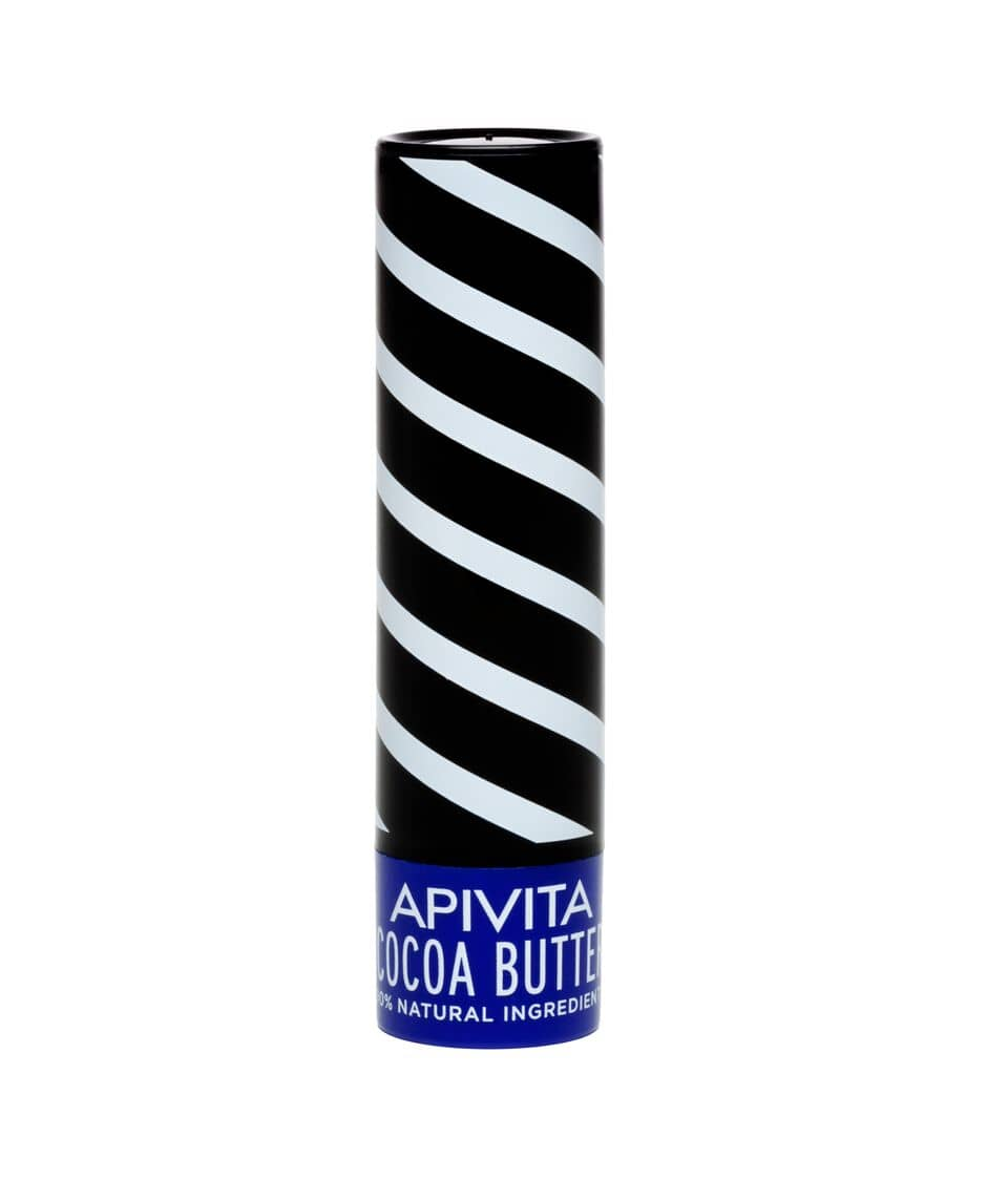 Apivita Lip Care Balm with Cocoa Butter SPF20, 4.4 gr