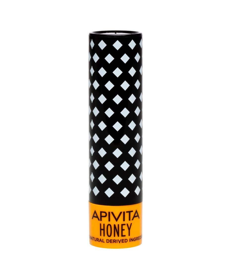 Apivita Lip Care Honey Bio-Eco Balm Χειλιών με Μέλι & Bιταμίνη Ε & 100% φυσική σύνθεση, 4.4 gr