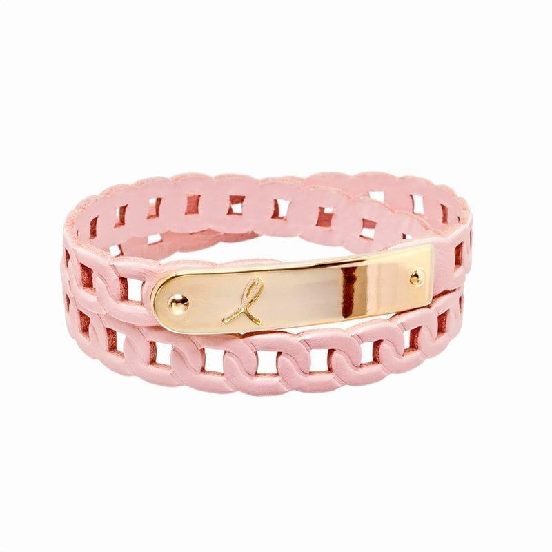 Estee Lauder Pink Ribbon Bracelet 2017 Βραχιόλι της Εκστρατείας για τον Καρκίνο του Μαστού, 1 τεμάχιο