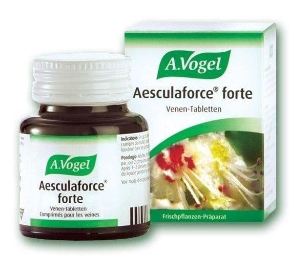 A. Vogel AESCULAFORCE forte (Φλεβοτονωτικό), 50 Ταμπλέτες από φρέσκια Ιπποκαστανιά