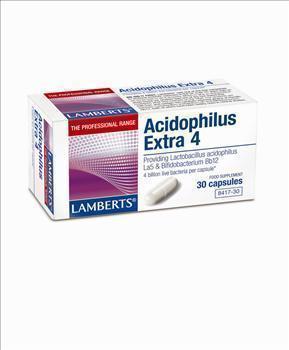 LAMBERTS ACIDOPHILUS EXTRA 4 (MILK FREE), 60 caps