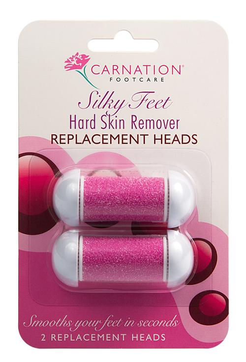 Vican Carnation Silky Feet Remover Replacement Heads Ανταλλακτική Κεφαλή για Ηλεκτρική Λίμα Ποδιών, 2τμχ