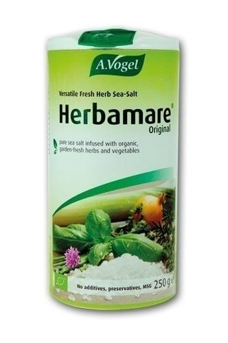 A. Vogel Herbamare Original Υποκατάστατο Αλατιού με πολύ χαμηλή περιεκτικότητα σε νάτριο, με λαχανικά & αρωματικά φυτά, 250gr