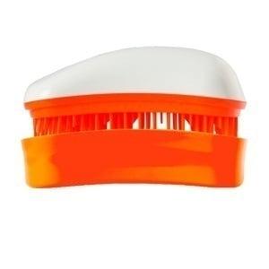 Dessata Mini Βούρτσα Μαλλιών, 1 τεμάχιο - Άσπρο-Μανταρινί