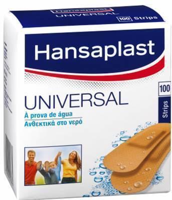 Hansaplast Family Pack Water resistant, 100 τμχ