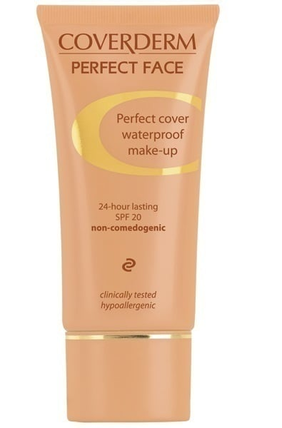 Coverderm Perfect Face Spf 20 - No. 5 - Αδιάβροχο Make-up 30ml