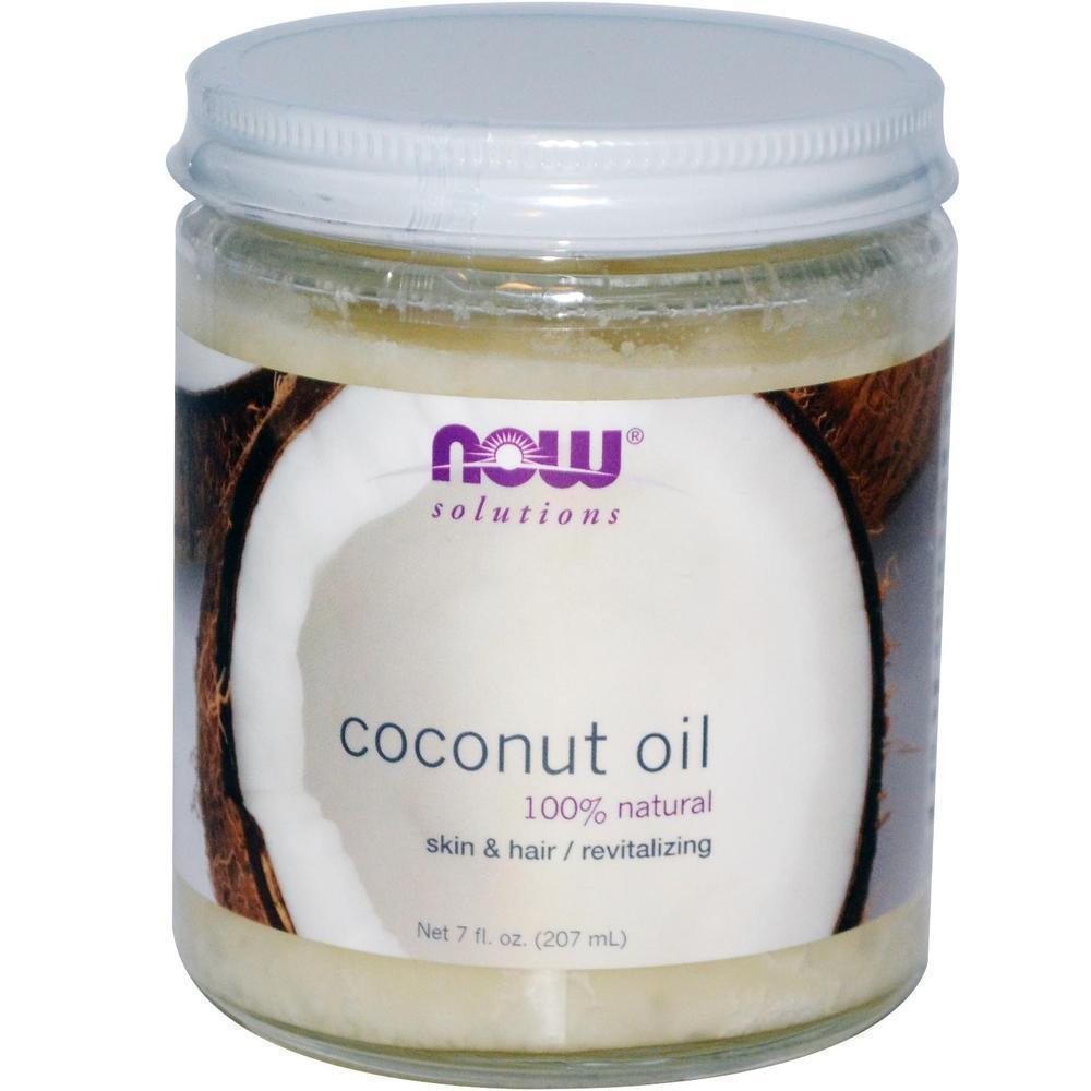 Now Natural Coconut Oil, 207 ml