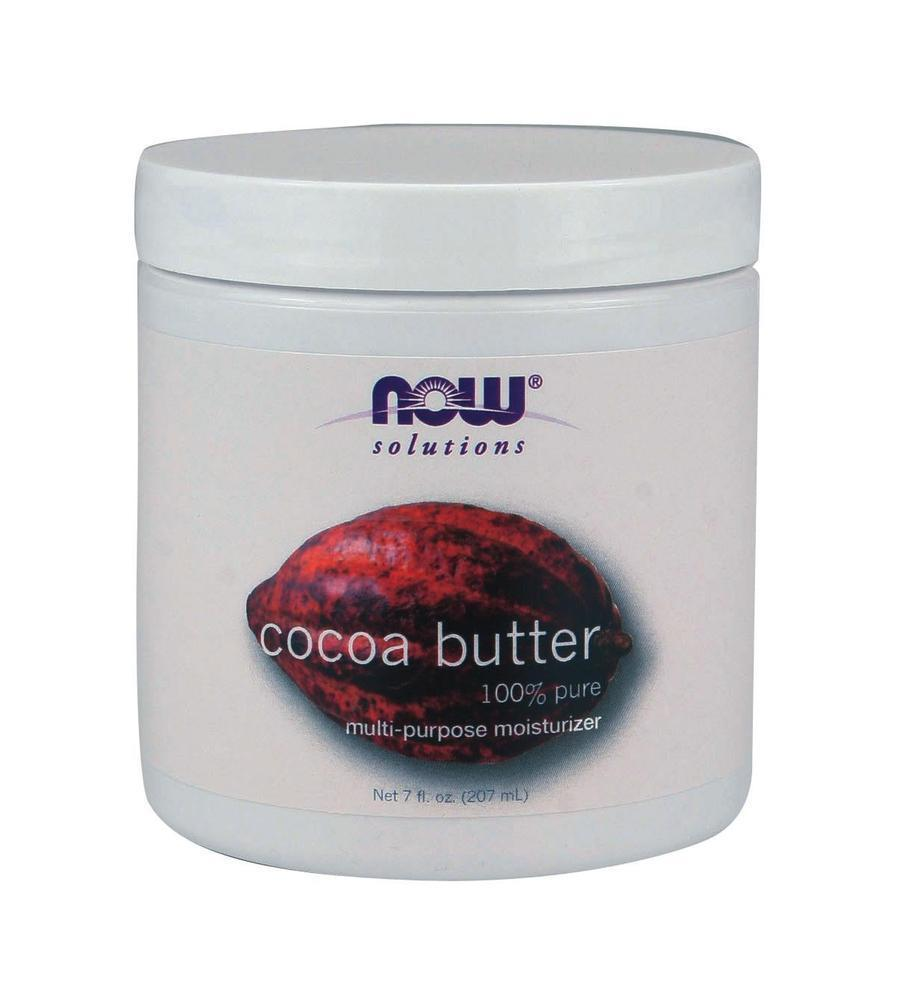 Now Cocoa Butter (100% Pure), 207 ml