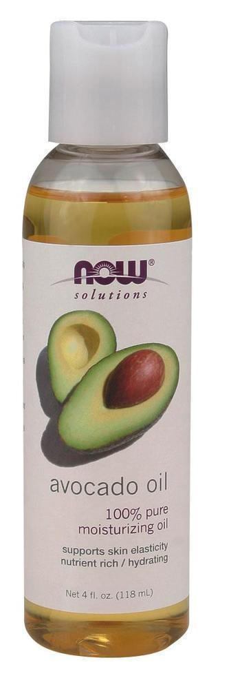 Now Avocado Oil Refined Moisturizig, 118 ml