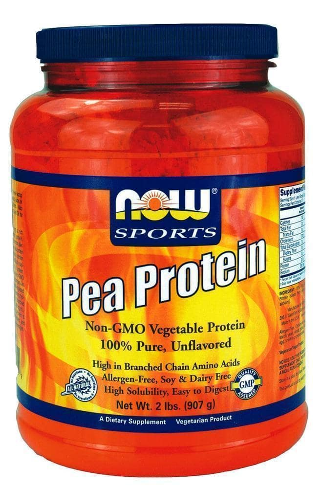 Now Pea Protein Non GMO Vegetarian, 907 gr