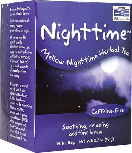 Now Nighttime Caffeine free, 24 φακελάκια