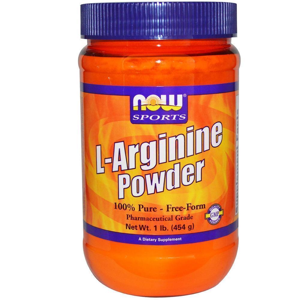 Now L Arginine Powder, Free Form, 454 gr