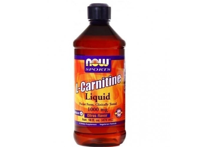 Now L Carnitine Liquid 1000 mg, 473 ml