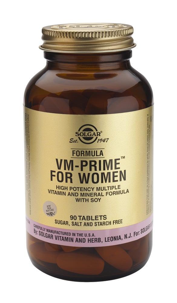 Solgar Formula VM-Prime for Women,90tabs