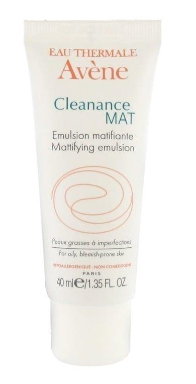 Avene Eau Thermale Cleanance MAT Emulsion Σμηγματορυθμιστική ενυδατική φροντίδα για Mατ αποτέλεσμα, 40ml