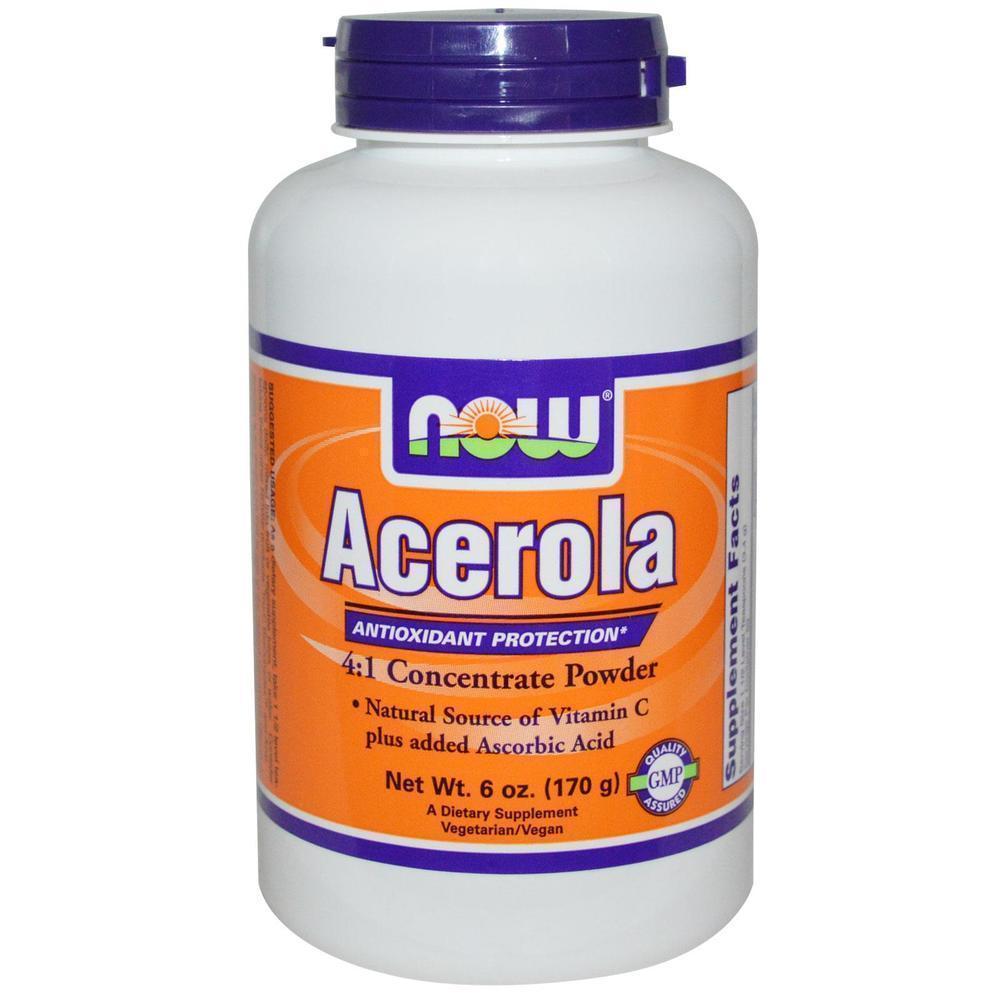 Now Acerola Extract Powder (Vegetarian), 170 gr