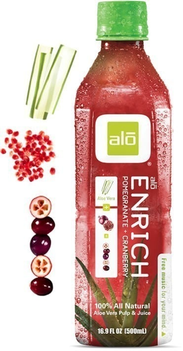 Alo Enrich, 100% Φυσικός Χυμός Αλόης για Όλες τις Ώρες, 500ml