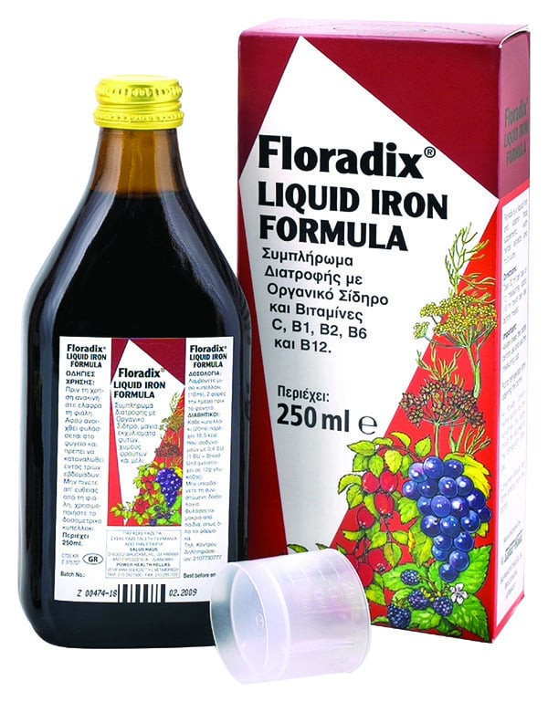 Power Health Floradix Γυναικείο Τονωτικό Συμπλήρωμα, 250ml