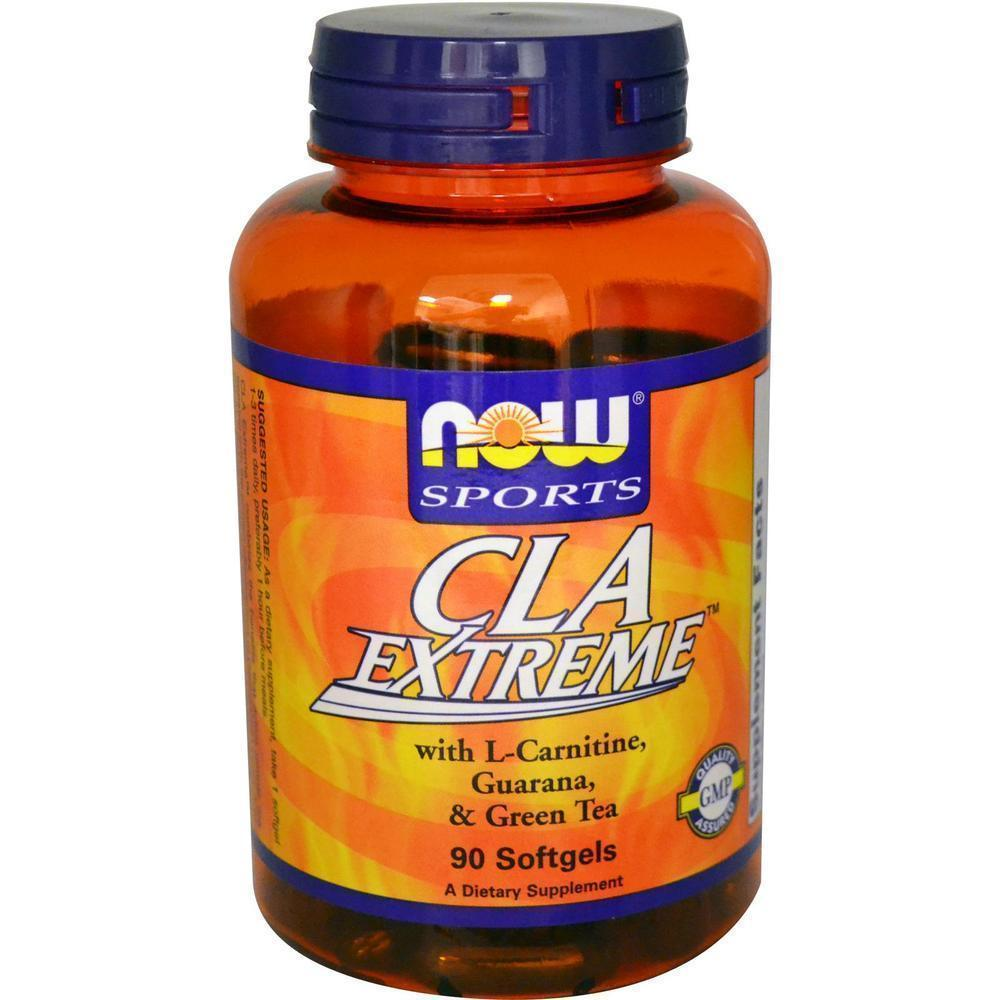 Now CLA Extreme 750 mg, w/ L Carnitine & Herbs, 90 softgels