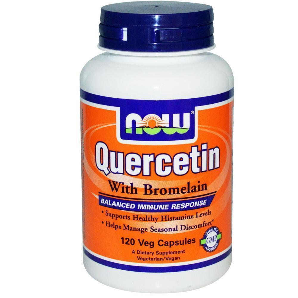 Now Quercetin with Bromelain, 120vcaps