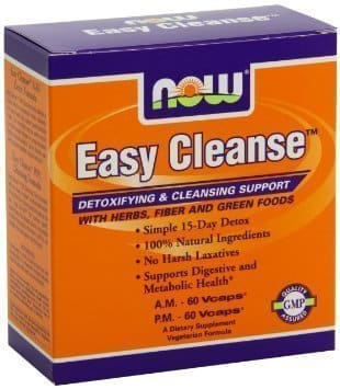 Now Easy Cleanse Kit, A.M. & P.M., 2 x 60 vcaps