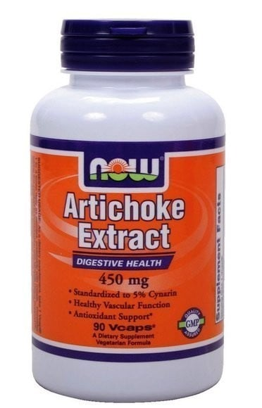 Now Artichoke Extract 450 mg, 90 vcaps
