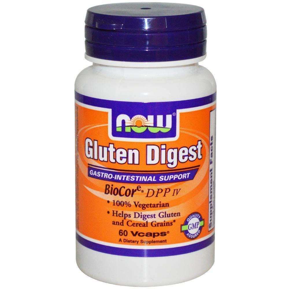 Now Gluten Digest (BioCore DPP IV), 60 vcaps