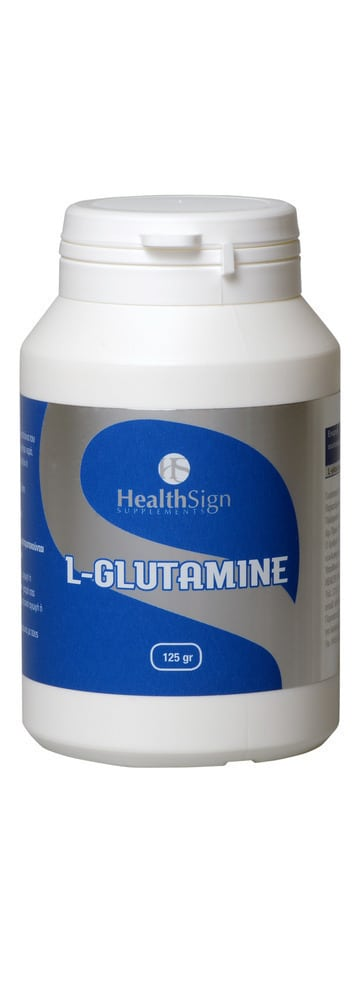 Health Sign L-Glutamine Powder, 125gr
