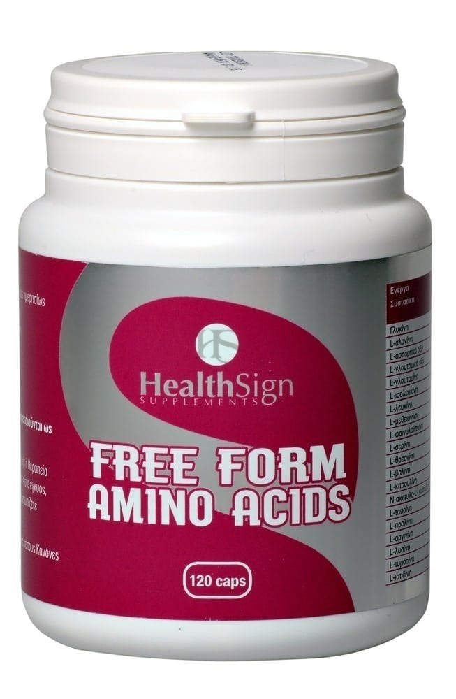 Health Sign Free Form Amino Acids, 120caps