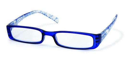 Vitorgan EyeLead E126 Γυναικεία Γυαλιά Πρεσβυωπίας, Κοκκάλινα σε Μπλε χρώμα, με σχέδια. Συνοδεύεται από μαλακή θήκη με κορδόνι & πανάκι καθαρισμού, 1 τμχ