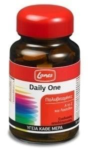Lanes Daily One Πολυβιταμίνη με πλήρη συνδυασμό βιταμινών & μετάλλων, για την καλή υγεία του οργανισμού, 30 tabs