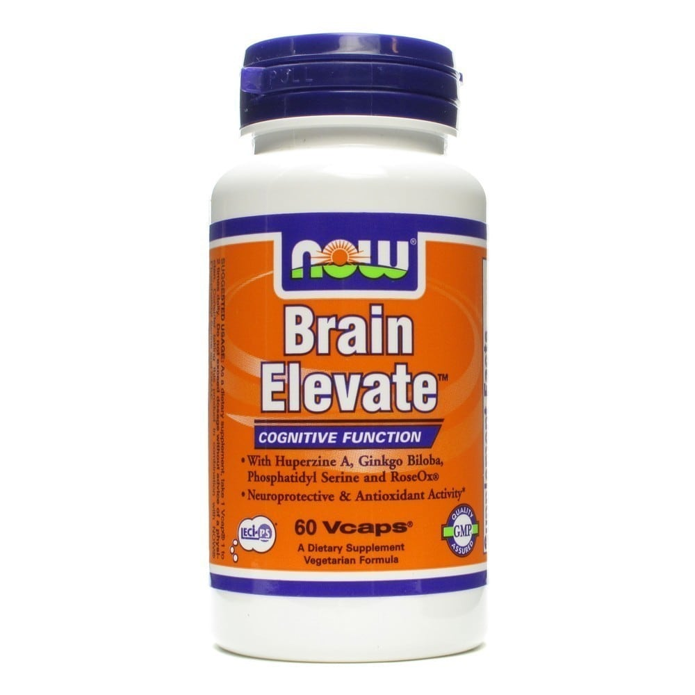 Now Brain Elevate, 60 Vcaps