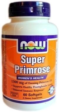 Now Super Primrose 1300 mg, 60 softgels