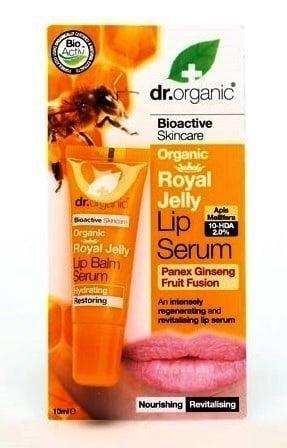Dr. Organic Royal Jelly Lip Serum, 10 ml