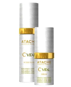 ATACHE C Vital Set Active (Serum 15ml + Fluid 30ml), 45ml