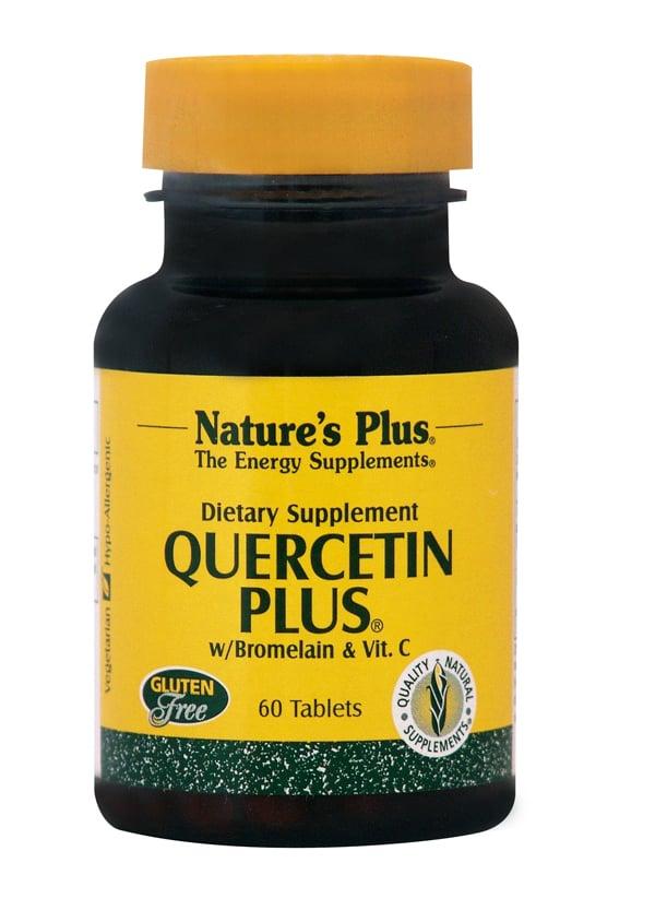 Nature's Plus Quercetin Plus W / Vit C Bromelain Συμπλήρωμα Κουερσετίνης, 60 tabs