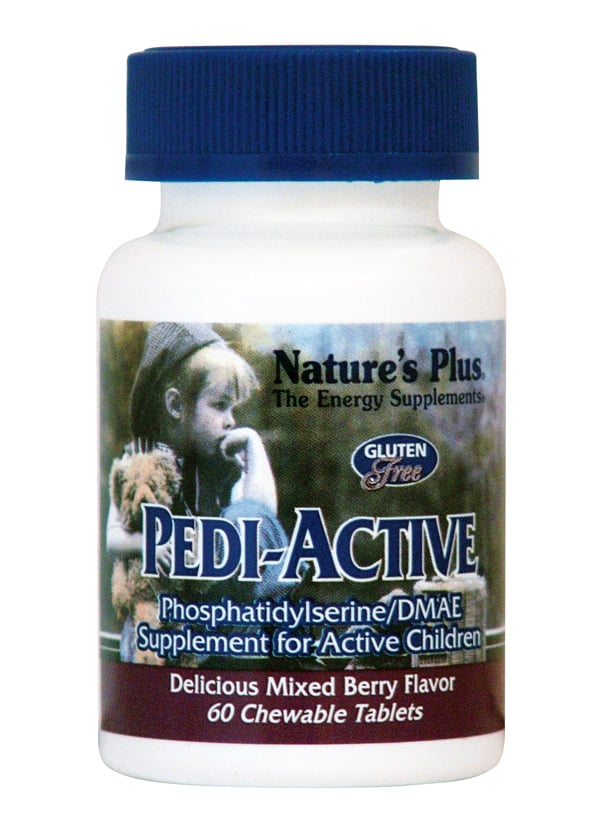 Nature's Plus Pedi Active Παιδική Πολυβιταμίνη, 60 chewable