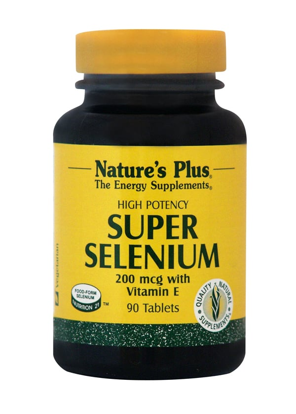 Nature's Plus, Super Selenium Complex 200 mcg, 90 tabs