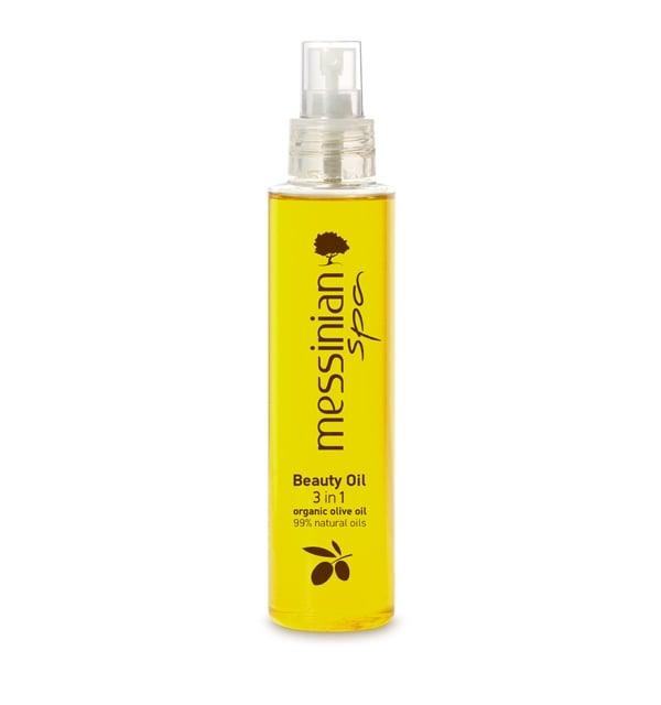 Messinian Spa Beauty Oil 3 in 1 Αναζωογονητικό & Ενυδατικό Έλαιο σώματος, προσώπου & μαλλιών, 150ml