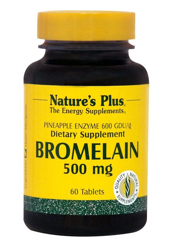 Nature's Plus, Bromelain 500 mg, 60 tabs