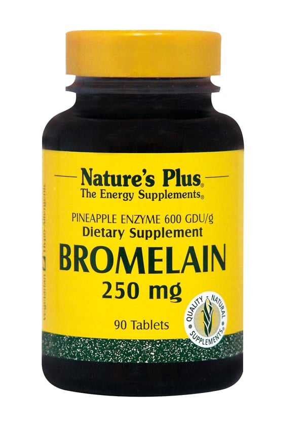 Nature's Plus, Bromelain 250 mg, 90 tabs