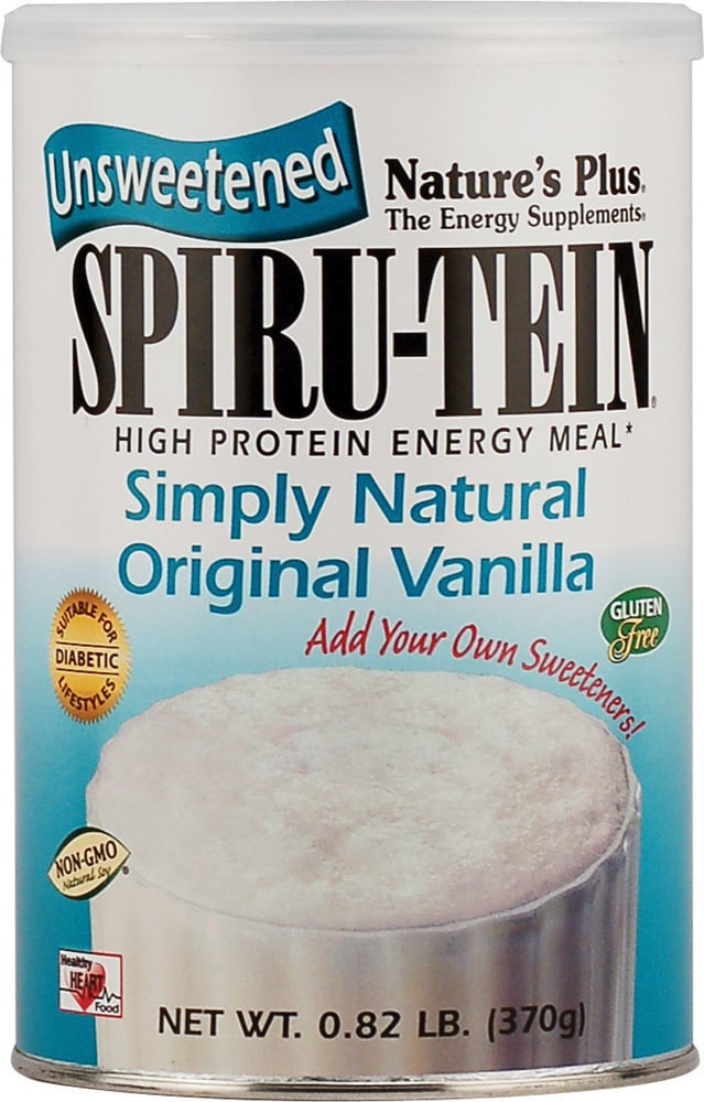 Nature's Plus, SpiruTein Simply Natural Vanilla, 370 gr