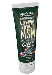 Nature's Plus, Glucosamine Chondroitin MSM Ultra Rx Joint Cream, 118 ml