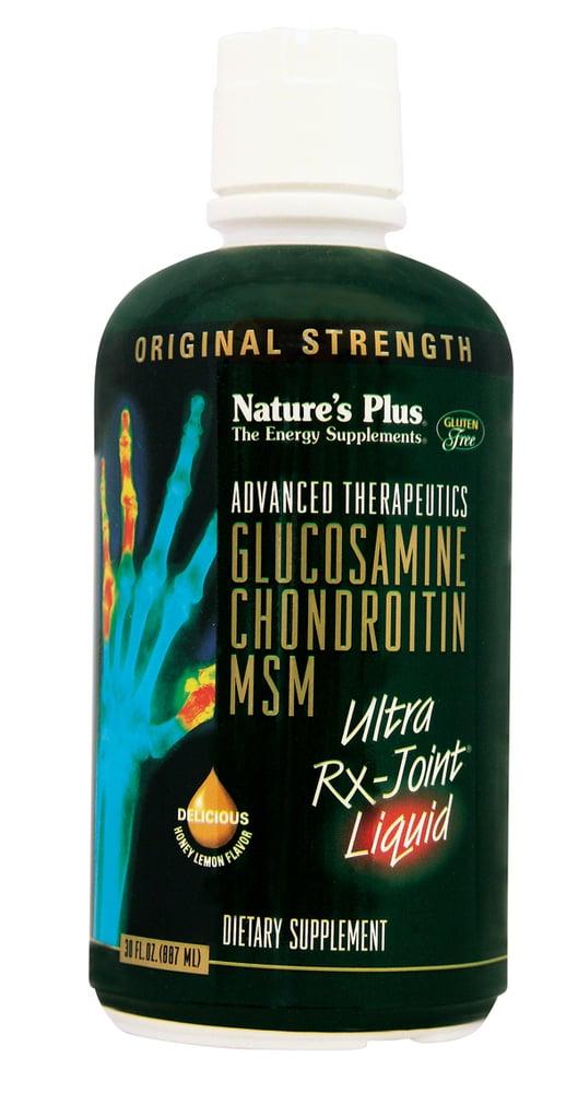 Nature's Plus, Glucosamine Chondroitin MSM Ultra Rx Joint Liquid, 887 ml