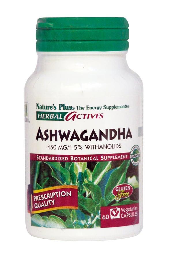 Nature's Plus, Ashwagandha 450 mg, 60 vcaps