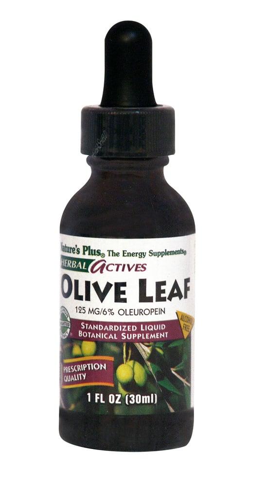 Nature's Plus Liquid Olive Leaf 125mg Συμπλήρωμα από Φύλλο Ελιάς σε σταγόνες, 30ml