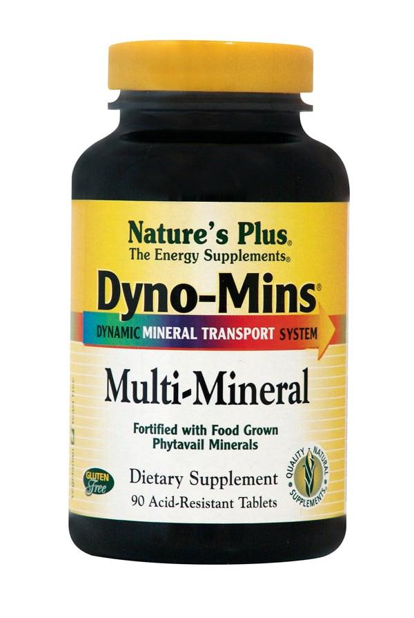 Nature's Plus, Dyno Mins Multi Mineral, 90 tabs