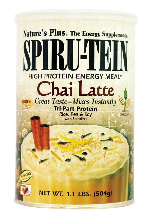 Nature's Plus, SpiruTein Chai Latte, 504 gr